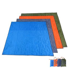 Wholesale Travel Bbq Grill - Fashion Waterproof Outdoor Pads Picnic Camp Grilling BBQ Carpet Portable Beach Mats Play baby blanket baby blanket