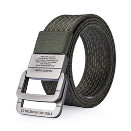 Wholesale Army Military Equipment - Nylon Belt men Army Tactical Belts man Military Waist Canvas male High Quality Equipment Strap ceinture homme