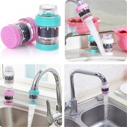 Wholesale Fitting New Bathroom - New 3 colors Magnetic Kitchen Running water filter household water faucet filter Bathroom water purifier IA695
