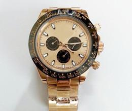 Montres de plongée perpétuelles en Ligne-Luxe rose or en acier inoxydable cadran homme automatique montre mécanique perpétuel en céramique lunette de plongée décontractée hommes antiquaires montres à vendre