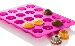 Wholesale Cake Pop Baking Pans - Silicone Tray Pop Fancy Cake Pops Mould Cupcake Baking Mold Party Kitchen Tools