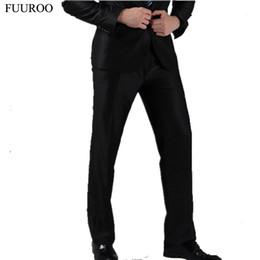 Wholesale Wedding Dress Trousers - Wholesale- Men Suit Pants Fashion Wedding Formal Twelves Colors Casual Trousers Famous Brand Blazer Pants Business Dress Trouser CBJ-H0284