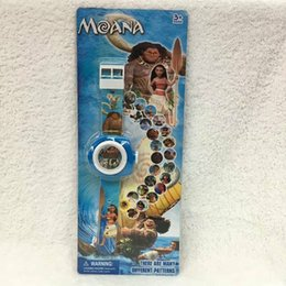 Wholesale Fashion Projections - new Moana cartoon Projection Watches Party gifts Supplies - Different 24 images