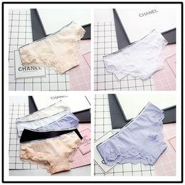 Wholesale Cotton Shorts Underwear For Women - 2017 Hot Panties Wholesale Woman Underwear Women Cotton Shorts Ladies Panties Knickers for Women Free Shipping
