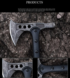 Wholesale 5 model American SOG Hawk Axe Tactical Tomahawk Outdoor Hunting Camping Axe Hands Tool Fire Axe Mountain cutting freeshipping