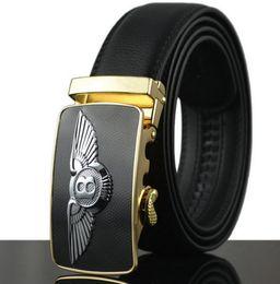 Wholesale Military Jeans - 2017 New Men Belt For Jeans Luxury Belt Real Cowskin Leather Automatic Buckle Belt Strap Mens Designer Belts military