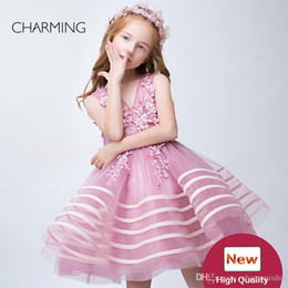 Vestido de niña vestido de niña Ropa de fiesta para niñas de alta calidad Vestidos para niños vestidos Vestidos para niñas de flores vestidos de desfile mayoristas chinos desde fabricantes