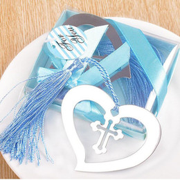 Wholesale First Baby Shower - My Heart Bookmark Party Favours Souvenirs First Communion Birthday Baby Shower Wedding Favors and Gifts For Guest ZA3033