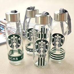 Wholesale Drinking Bottle Kids - Lemon Water Bottle Glass Bottle Starbucks Bottle Kids Water Cup Student Water Glasses High Quality Wholesale