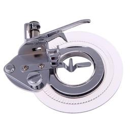 Wholesale Wholesale Parts Sewing Machine - Flower Point Round Point Foot Presser Flower Embroidery Foot Sewing Machine Part