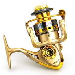 Wholesale 10BB Speed Ratio Metal Spinning Fishing Reel EF1000 Ocean Sea Boat Ice Fishing tackle Aluminum FISHING REEL
