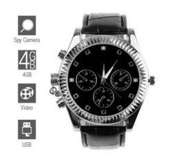 Wholesale Spy Watch Camera Dvr - Classic Design Spy Watch (4GB) mini hidden camera watch dvr