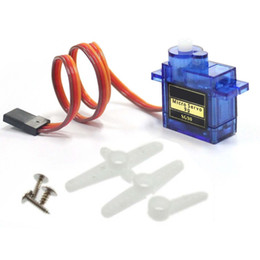 Wholesale Boat Servo - Mini 9G SG90 Micro Servo High Speed for RC Robot Helicopter Airplane Car Boat