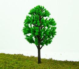 Wholesale Scale Height - 50 PCS Height 6cm 8cm 10cm Plastic Scale Model Tree Building Model Layout PT1102A