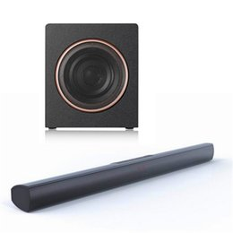 Wholesale Aluminum Home Button - 2.1 aluminum alloy bluetooth home theater TV soundbar 70W output with 3D surround and 5.25