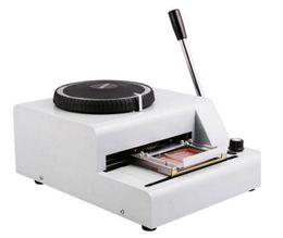 Wholesale Stamp Printer Machine - 72-Character Manual Embosser Embossing Machine PVC ID Credit Card Embosser Stamping Machine Code Printer free shipping MYY