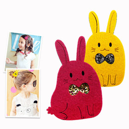 Wholesale Hair Style Korea - 2015 New Style Baby Girls cute cat hair clip South Korea pop girl hairpin toddler baby hair accesories 20ps lot