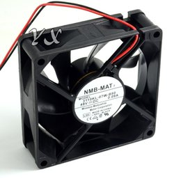2019 fan dc48v Envío gratis Original Nuevo a NMB 80 25 DC48V 0.09A 3110KL-07W-B50 inversor ventilador de refrigeración 95g rebajas fan dc48v