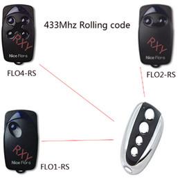 Substituição remota do código rodoviário on-line-Cópia da qualidade por atacado-alta Flors agradáveis rolling code controle remoto 433 substituição com bateria