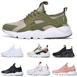 Wholesale White Lace Shoes For Women - Air Huarache Run Ultra 4 IV Running Shoes For Men & Women Top Quality Air Huarache Run Ultra Multicolor Sneakers Athletic Trainers