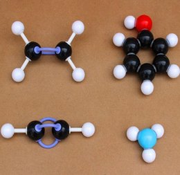 Wholesale Club Organic - Wholesale- Secondary chemical molecular structure model of the club ratio of the organic molecule experiments Teach Aids