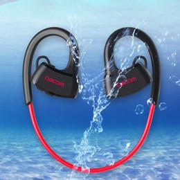 2019 водонепроницаемые наушники bluetooth Новый P10 IPX7 водонепроницаемый Bluetooth наушники гарнитура плавание наушники ухо крюк работает общая версия для ios дешево водонепроницаемые наушники bluetooth