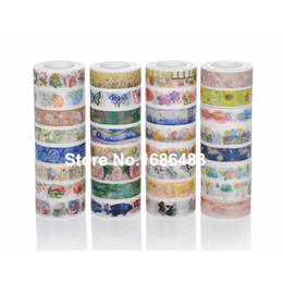 Wholesale Printed Washi Tape - Wholesale- 2016 high quality hundreds design for choice Japanese printed decorative colorful office adhesive washi tape design F