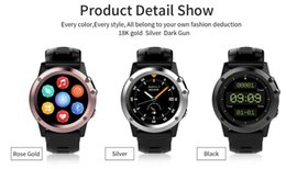 Wholesale Internet Camera Waterproof Wireless - waterproof the best watch phone android with 3G Internet call wireless WIFI GPS navigation heart rate altitude compass wrist watch android