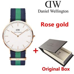 Wholesale Female Military - 2017 Fashion nylon Strap wristwatches Men Women Casual watch Sports Military quartz Male Clock female Ladies Watches Relogio Feminino
