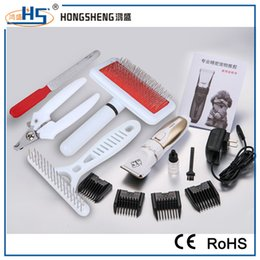 Wholesale Nail Grooming Tool For Cats - Dog Grooming Clippers Kit Professional Pet Electric Hair Clippers Trimmer with Comb for Dogs Cats with Wholesale Prie