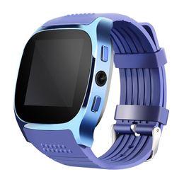 "Wholesale Wrist Watch Camera 2mp - T8 Android OS Wrist Smart watch MTK6261 1.54"" Display 2MP Camera 2G SIM Card Bluetooth SmartWatch"