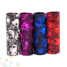 Canetas de crânio on-line-Caso Do Crânio Vape Pen 22 Mod Proect Caso Crânio Cabeça de Borracha De Silicone Macio Carry Bag Capa para Vape Pen 22 DHL Livre