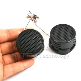 Wholesale tweeter wholesale - Wholesale- 1Pair 500W Car Mini Dome Tweeter Loudspeaker Loud Speaker Super bass Power Audio Auto Sound Klaxon Tone