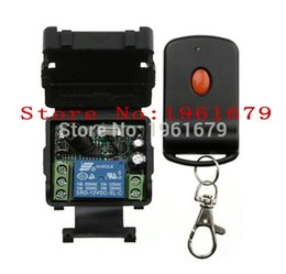 Wholesale 433mhz remote - Wholesale- DC 12 v 1CH mini wireless remote control switch 2015 new remote control 315MHZ 433MHZ 1 piece receiver+1 piece transmitter