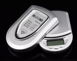 Wholesale Mini Digital Scale Grams - 500g 0.1g Mini LCD Digital Scales Pocket Jewelry Gold Diamond Scale Gram