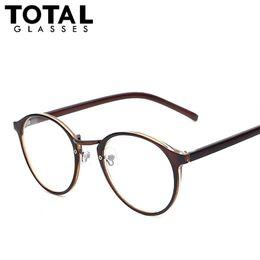 Wholesale Round Geek Glasses - 2017 Hot Sale Round Eyewear Vintage Style Women Eyeglasses Brand Designer Optical Glasses Men Women Fashion Girls Geek Oculos