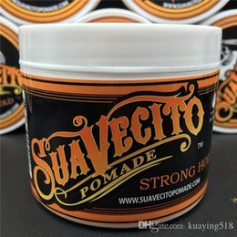 Wholesale Hair Wax Wholesalers - Suavecito Pomade Gel 4oz 113g Strong Style Restoring Ancient Ways is Big Skeleton Hair Slicked Back Hair Oil Wax Mud