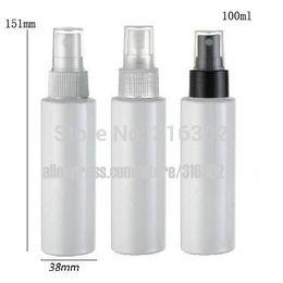 Wholesale Plastic Bottle Fine Mist Spray - 20 x 100ml white plastic perfume bottle with fine mist sprayer, 100cc white pet spray bottle,100ml misting container