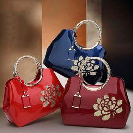 Wholesale Nice Red Rose - Nice Lady bags handbag Stereotypes sweet fashion handbags Shoulder Messenger Handbag rose Singles Shoulder Bags Hand Contracted Messenger