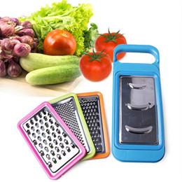 edelstahl kartoffel-aktenvernichter Rabatt Kunststoff + Edelstahl Multifunktionale Gemüseschredder Schälmesser Obst Und Gemüse Reibe Kartoffel Schneiden Garn Draht LZ0017