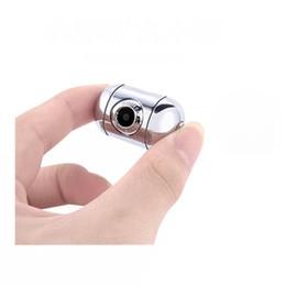 Casos de movimiento online-¡Caliente! Ultra Mini Cámara Metal Case Micro Cámara HD 1080P Cámara Digital Portátil DV Detección de Movimiento Videocámaras Video Grabador DVR