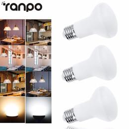 Wholesale E27 R63 - Wholesale- Dimmable LED Bulb Spotlight E27 10W R63 5730 SMD 110V 220V Light Lamp Super Bright LEDs Lamprada Lighting For Home Decor
