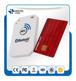 Wholesale Smart Reader Android - Portable Contactless Bluetooth Rfid Android Handheld Nfc Smart Card Reader Writer ACR1255