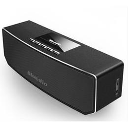 Wholesale Computer Sound Bar - Wholesale- Bluedio CS4 Mini Wireless Portable Bluetooth Speaker Stereo Som Sound System Bar Surround Loudspeaker Music Box for Phone Player