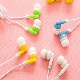 Wholesale Hot Candy Mp3 - Apple Apple iPod Headset Ear Candy Color Computer MP3 Earplugs Cell Phone Earphones Hot Sale High Quality