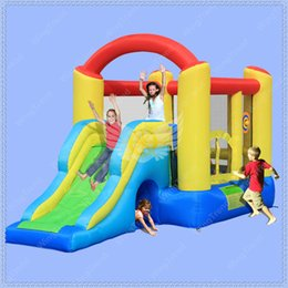 Wholesale Inflatable Trampolines For Kids - Very Beautiful Inflatable Jumping Castle Combo Slide with Air Blower,Bouncy Castle for Children,Kids Like Inflatable Trampoline