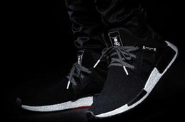 Wholesale Lace Applique Japan - 2017 New NMD XR1 x Mastermind Japan Skull Wholesale Mens Casual Shoes Best Quality Boost Fashion Women Sneakers Size 36-45 US 5-11