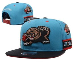 Wholesale Snapback Hat Basketball - New 2017Wholesale High Quality Grizzlies Snapback Caps for men and women baseball caps sports fashion basketball hats