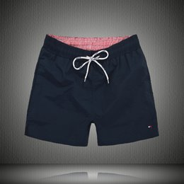 Wholesale Swim Shorts Surf - Summer 2017 fashion brand designer TM mens sport leisure beach surf high-quality swimming shorts men beach short