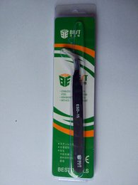 Wholesale Best Esd - Anti-Static Curved Fine Tip Tweezer  BEST ESD-15